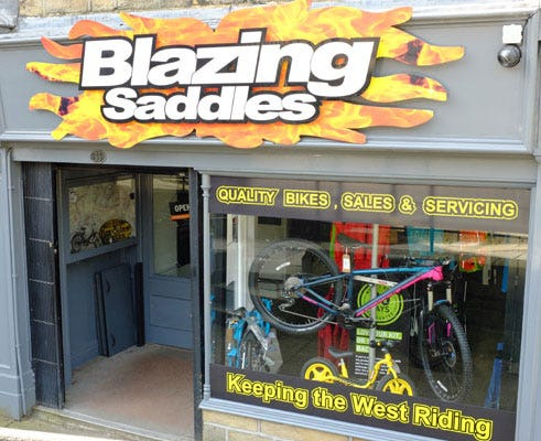 Blazing Saddles Ltd - Hebden Bridge